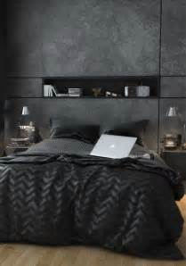 black bachelor pad bedroom ideas
