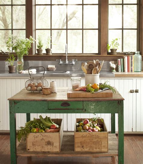 green kitchen island ideas country style interior heaven 4015