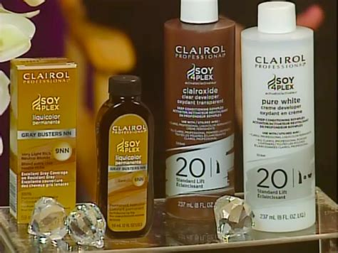 Clairol's Soy 4-plex Products---from The Beauty Supply
