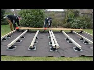 Terrasse Sur Plot : 4 heures pour poser une terrasse bois sur plots ma ~ Melissatoandfro.com Idées de Décoration