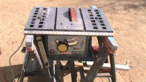built  portable table  cross cut sled jig