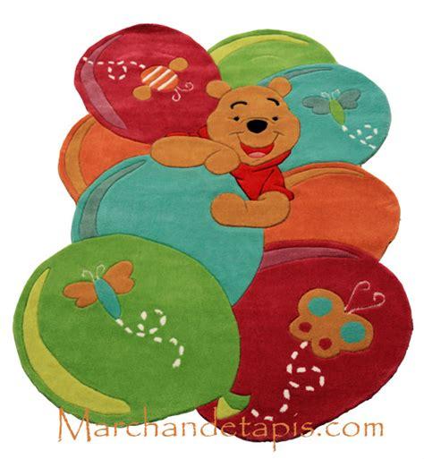 tapis enfant winnie l ourson 115x168cm tapis enfant