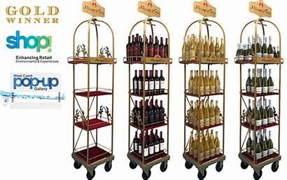Trois Wine Pop Experiences Menage Behance Display