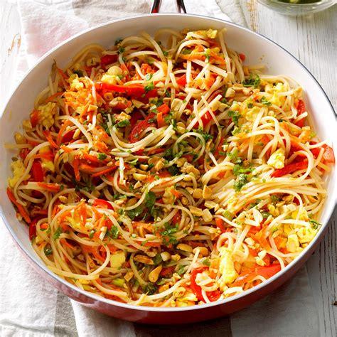 vegetarian pad thai recipe taste  home