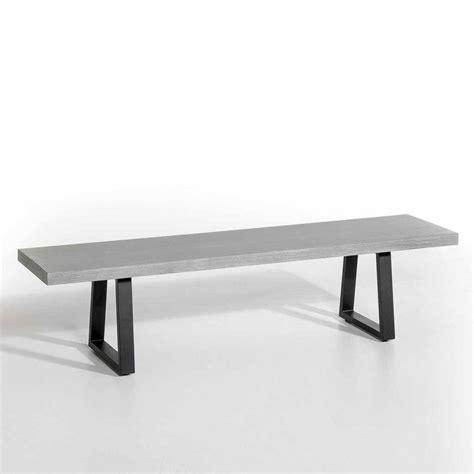banc en resine banc en bois le banc l assise tendance qui remplace la