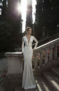 top 10 long sleeve wedding dresses best for a winter With long sleek wedding dresses