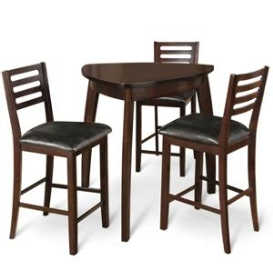 pub style table chairs coffee bar