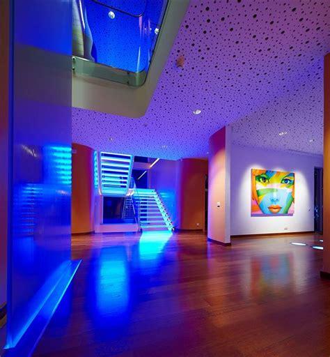 led home interior lights colorful house ideas yazgan design architecture interior