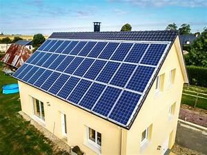 tuile photovoltaique prix et rendement du solaire With prix panneau solaire pour maison
