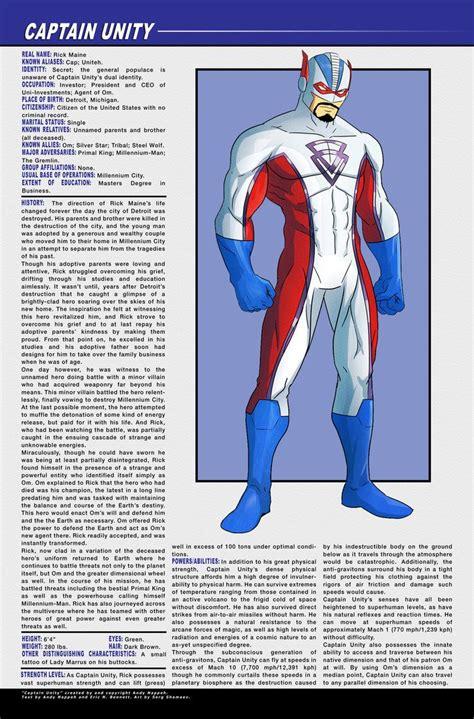 captain unity character profile  ursamagnus