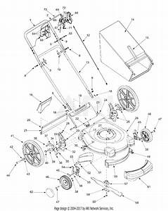 Mtd 11as589t401  2002  Parts Diagram For General Assembly