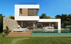 Moderne Design Villa : contemporary villa project in santa ponsa exclusive villas apartments and estates ~ Sanjose-hotels-ca.com Haus und Dekorationen