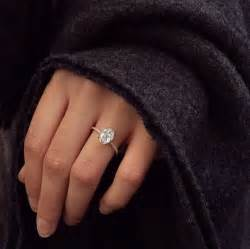 oval engagement ring thin band 25 best ideas about oval on oval wedding rings oval solitaire engagement