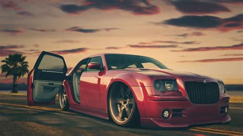 Custom Chrysler Tuning Chrysler 300c Angle Car Wallpapers