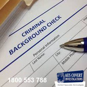 how to get background check how to get a criminal background check auscovert