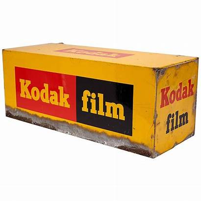 Kodak Film Box Sign Signs Framed Signal