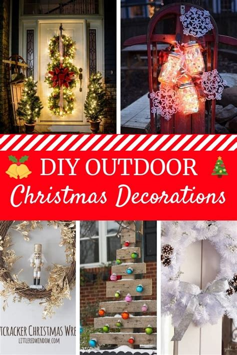 diy outdoor christmas decorations absolute christmas