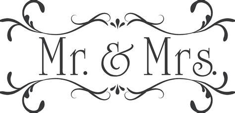 wedding  mrscustom wall decor words vinyl lettering decal