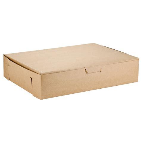 kraft  sheet cake bakery box