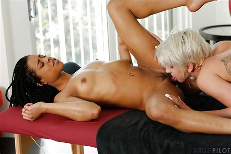 Hot Chicks Kira Noir And Dylan Phoenix Engage In Interracial Lesbian Sex