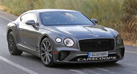 bentley continental gt speed spied mixing wheel sets