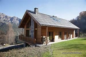free great excellente maison en bois chalet bois maison With prix construction maison en rondin de bois