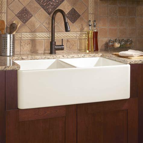 farm kitchen sink 33 quot angove bowl cast iron farmhouse sink kitchen