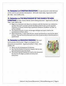 vii summary of vatican ii documents With documents vatican ii summary