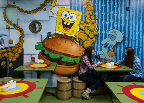 spongebob cuisine there s a version of the cafe from spongebob