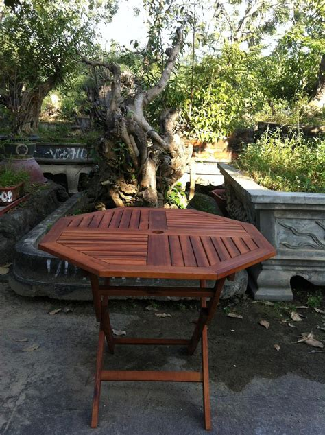 garden wooden table hard wood patio bistro furniture