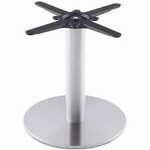 Pied De Table Metal : pied de table biz rond en m tal 40cmx40cmx44cm acier ~ Teatrodelosmanantiales.com Idées de Décoration