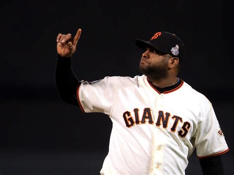 Pablo Sandoval's 3 HRs lead Giants to Game 1 WS win - CBS News