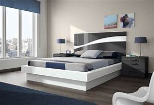 contemporary beds beauteous upholstered queen size low With double bunk beds ideas for modern look