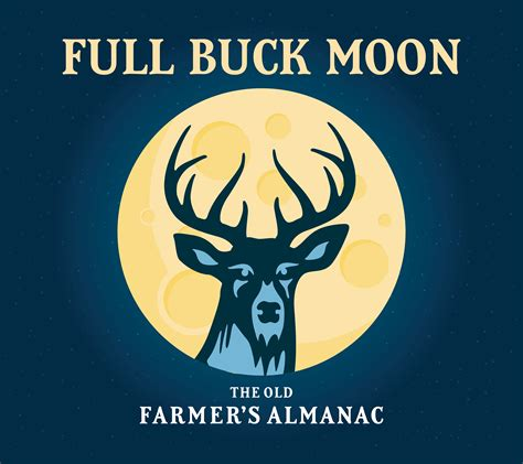 full moon  july   full buck moon