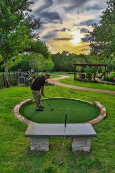 Backyard Golf Drills by Tour Greens Backyard Putting Green Photos Landscape In