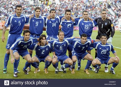 Dpa The Players Of The Greek National Soccer Team
