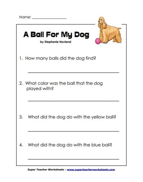 Super Teacher Worksheet Reading Comprehension Worksheets For All  Download And Share Worksheets
