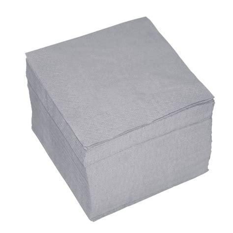 Servietten Grau 100 servietten 2 lagig ca 24x24cm hell grau