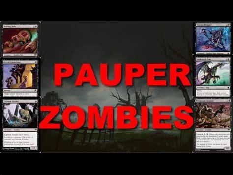 mtg pauper mono black zombies vs black red sacrifice 3