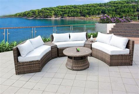 10 outdoor wicker patio furniture set rattan san