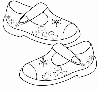 Coloring Shoes Pages Printable Sheets Kid Jojo