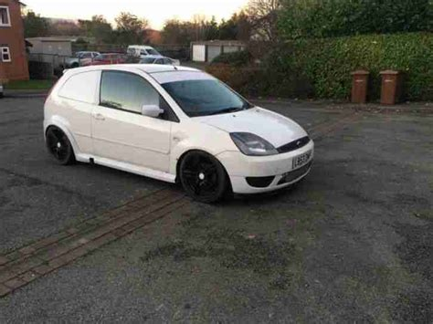 Ford Fiesta Car Derived Van, Modified Fmic Alloys