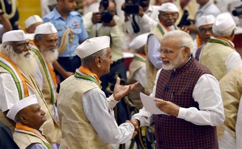 Narendra Modi, Ram Nath Kovind Joins Others In Observing 75 Years Of Quit India Movement