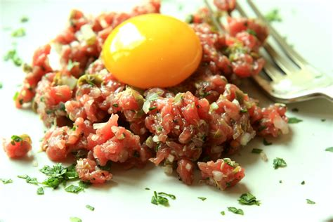 cuisine legere et dietetique tartare de boeuf aux herbes cr diététique