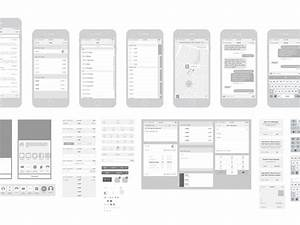 free iphone 6 vector wireframing toolkit ios 8 by With iphone app wireframe template