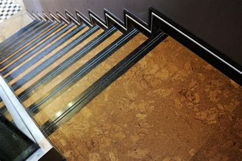 cork flooring for stairs cork stairs our new home pinterest