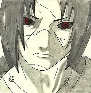 Itachi drawing by MinatoUchiha4 on DeviantArt