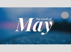 May – Fifth Month of the Year
