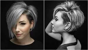 Coup De Cheveux Femme : coupe cheveux court femme 2018 coiffure simple et facile ~ Carolinahurricanesstore.com Idées de Décoration