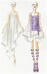 Fashion Dress Illustration Sketch